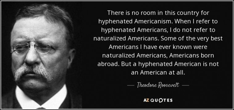 Image result for hyphenated American